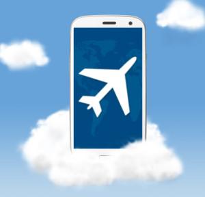 Smartphone Airplane Travel